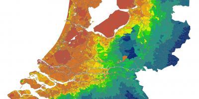 Cartina Piste Ciclabili Olanda.Olanda In Bicicletta Sulla Mappa Mappa Dei Percorsi Ciclabili In Olanda Europa Occidentale Europa